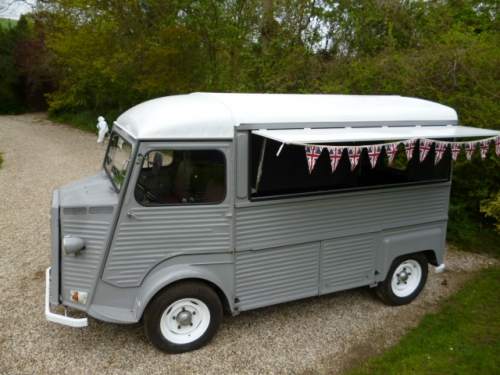 Citroen HY van Mobile shop