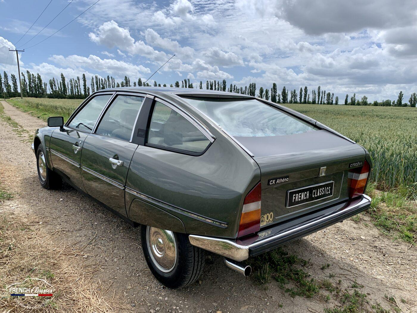 French Diesel: 1979 Citroën CX 2500 Pallas - Barn Finds