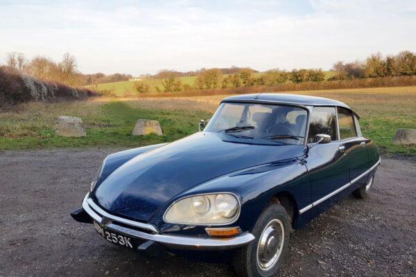 Citroën DS21 Efi Pallas, 1972 à vendre