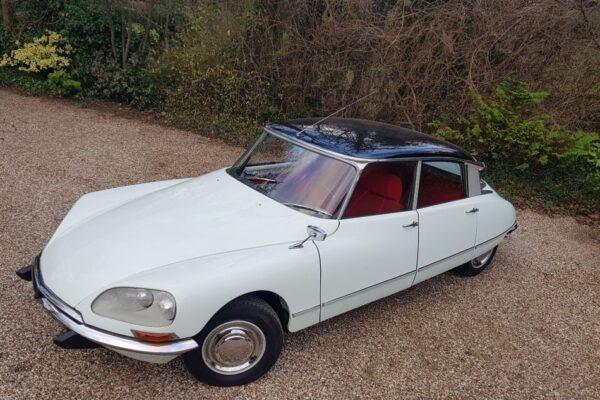 Citroën DS 21 Confort, 1968 à vendre