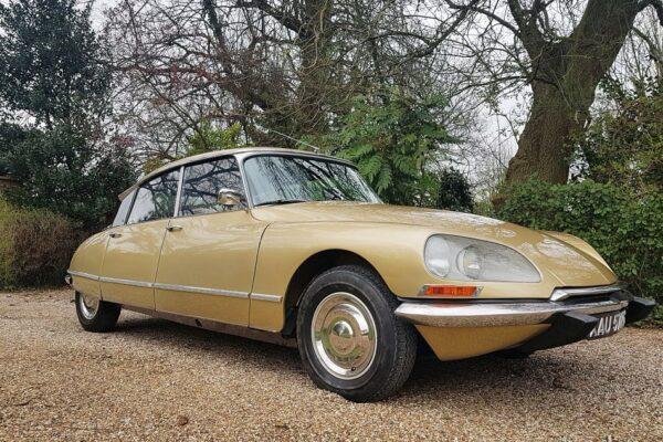 Citroën DS 21 Pallas RHD, 1969 for sale
