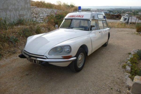 Citroën DS Ambulance, 1971 à vendre