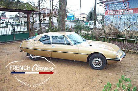 Citroen SM EFI 1973 à vendre