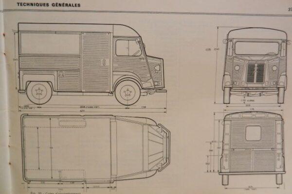 Citroen HY van 1972 à vendre